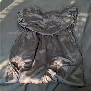 A jumpsuit all black